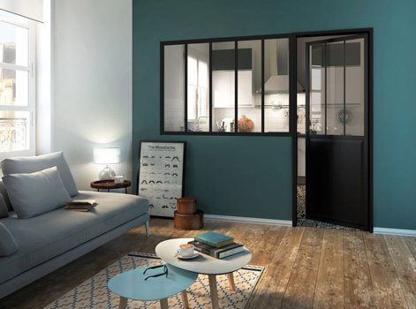 id e d co faites entrer la verri re industrielle mikit. Black Bedroom Furniture Sets. Home Design Ideas